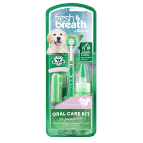 TropiClean - Fresh Breath - Dental Care Kit (For Puppies)