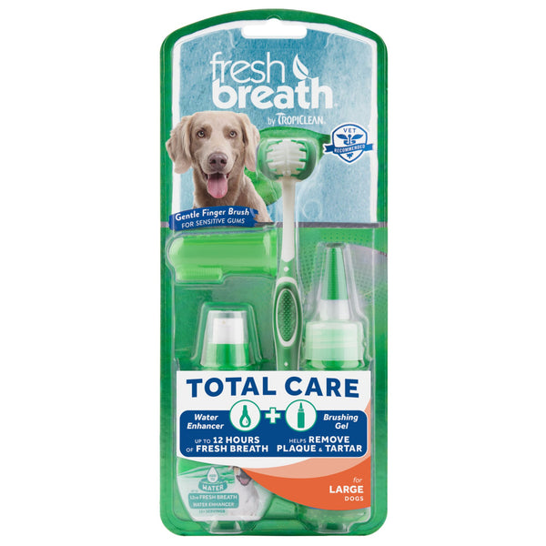 TropiClean - Fresh Breath - Dental Total Care Kit