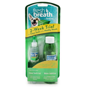 TropiClean - Fresh Breath - Dental Trial Kit (For Dogs)