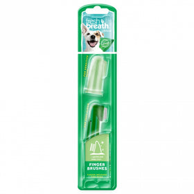 TropiClean - Fresh Breath - Finger Brushes (For Dogs)