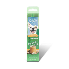 TropiClean - Fresh Breath - Oral Care Gel With Peanut Butter Flavoring (For Dogs)