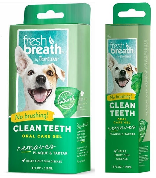 TropiClean - Fresh Breath - Oral Care Gel (For Dogs)