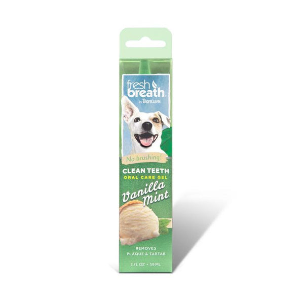 TropiClean - Fresh Breath - Oral Care Gel with Vanilla Mint Flavouring (For Dogs)