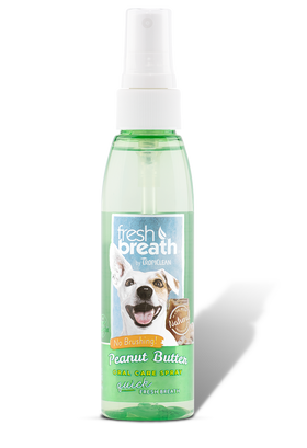 TropiClean - Fresh Breath - Oral Care Spray with Peanut Butter Flavoring (Dogs)