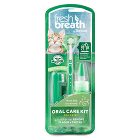 TropiClean - Fresh Breath - Oral Care kit (For Cats)