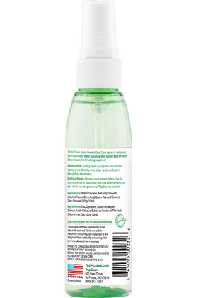 TropiClean - Fresh Breath - Berry Fresh Oral Care Spray