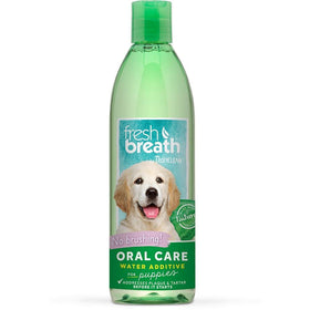 TropiClean - Fresh Breath - Dental Health Solution (Water Additive For Puppies)
