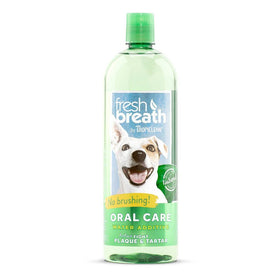 TropiClean - Fresh Breath - Dental Health Solution (Water Additive For Dogs)