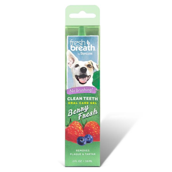 Tropiclean - Fresh Breath - Oral Care Gel With Berry Flavoring (For Dogs)
