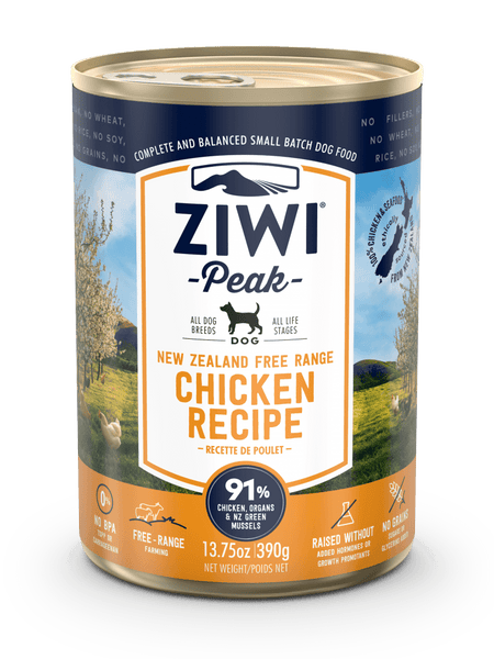 ZiwiPeak - Wet Free-Range Chicken Recipe for Dogs - ARMOR THE POOCH