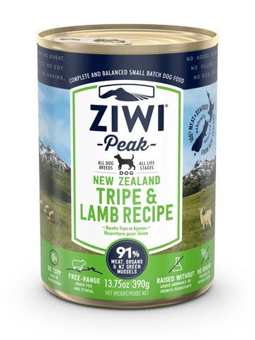 ZiwiPeak - Wet Tripe & Lamb Recipe for Dogs
