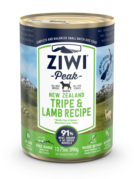 ZiwiPeak - Wet Tripe & Lamb Recipe for Dogs - ARMOR THE POOCH