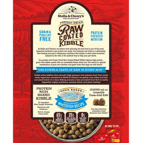 Stella & Chewy's - Wild-Caught Whitefish Raw Coated Kibble (Grain Free Dry Dog Food)