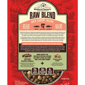 Stella & Chewy's - Wild Caught Raw Blend Grain Free Kibble (For Dogs)