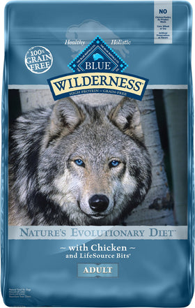 Blue Buffalo - Blue Wilderness - Chicken Recipe Grain-Free (Adult Dry Dog Food)