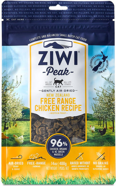 ZiwiPeak - Air-Dried Free-Range Chicken Recipe for Cats - Cat Food
