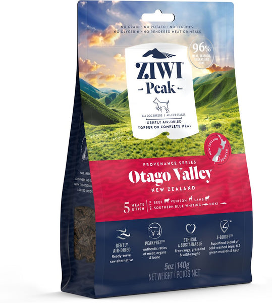 ZiwiPeak - Air-Dried Otago Valley Recipe for Dogs - Dog Food