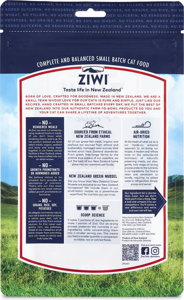 Ziwi Peak - Air-Dried Venison Recipe for Cats