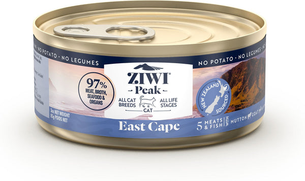 ZiwiPeak - Wet East Cape Recipe for Cats - Cat Food