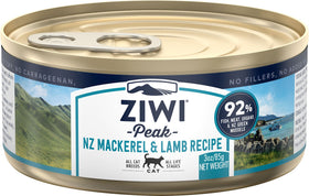 ZiwiPeak - Wet Mackerel & Lamb Recipe for Cats