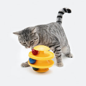 pidan - Ball & Track Swinging Tumbler Cat Toy