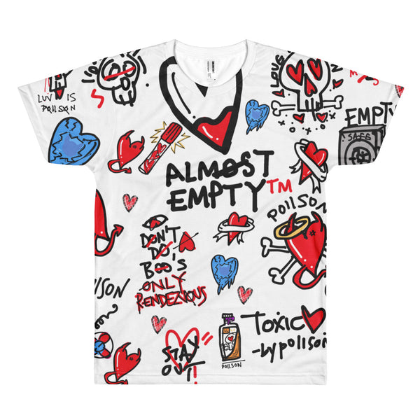 Almost Empty All Over Print (UNISEX)