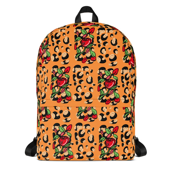 Cheetah Rose (Backpack)