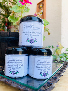Luxurious Foaming Sugar Scrub Minty Grace Gardens 4oz