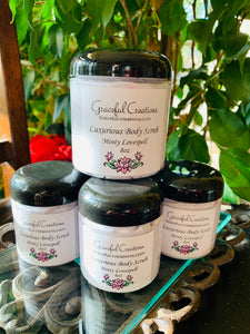 Luxurious Foaming Sugar Scrub Minty Lovespell 4oz