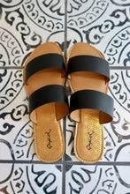 Load image into Gallery viewer, Black Simplicity Sandals
