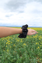 Load image into Gallery viewer, Pop it, Lock it, Polka Dot it Hair Scrunchie