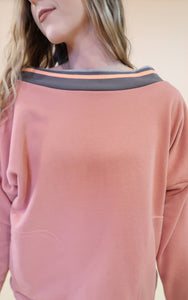 A Million Dreams Mauve Sweater