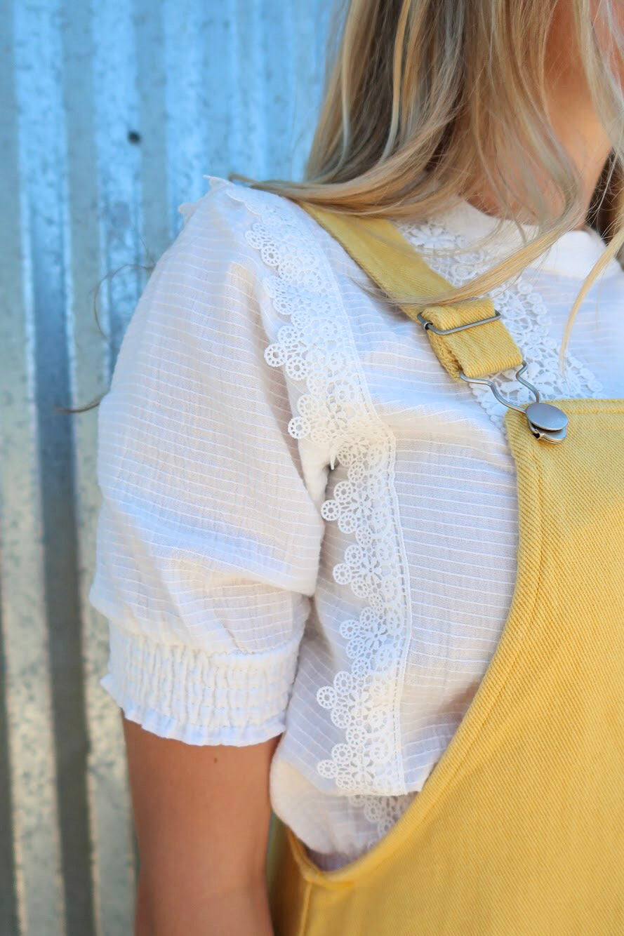 All Dolled Up Lace Top