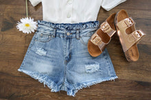 Load image into Gallery viewer, Here Comes the Sun Denim Shorts