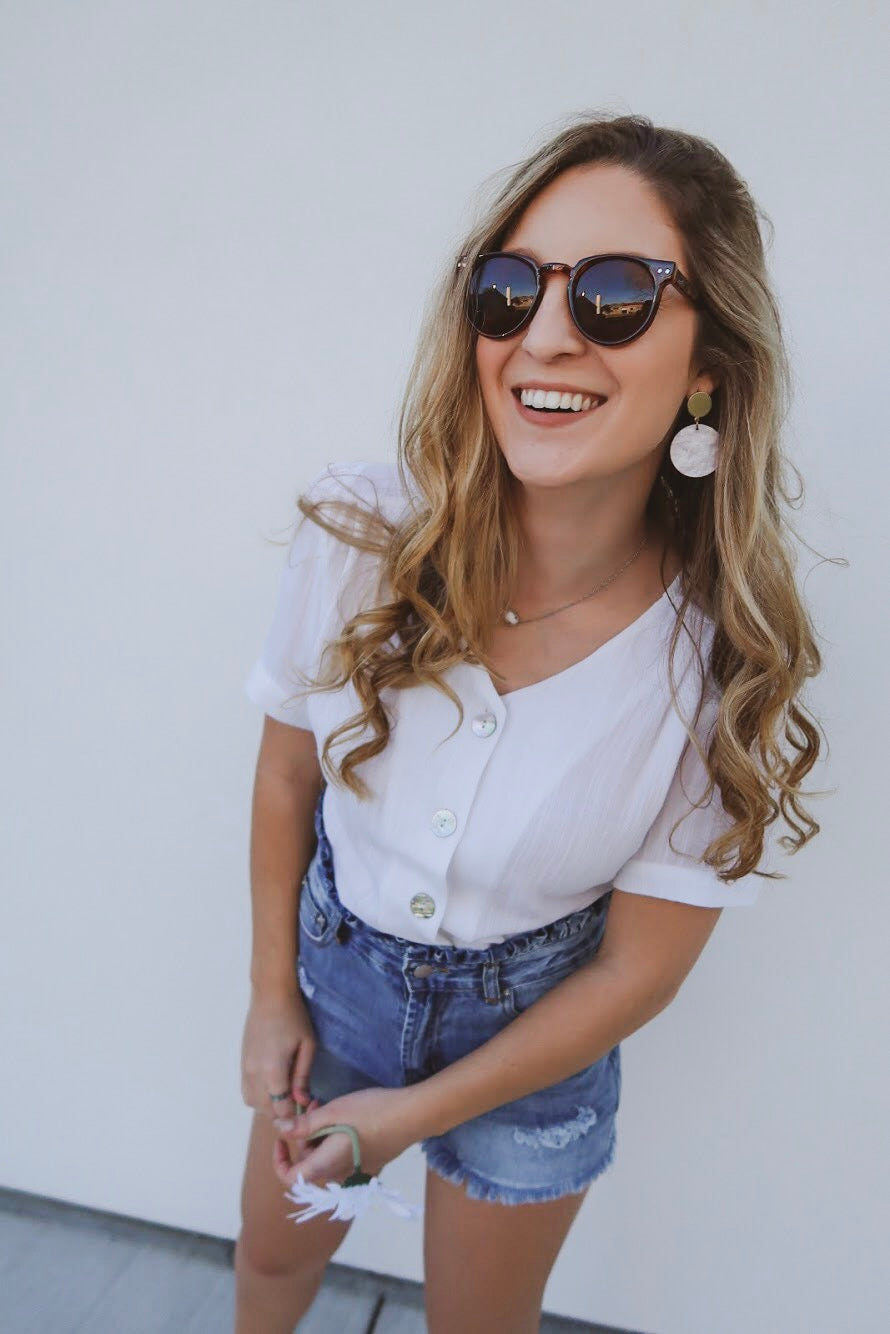 Always Effortless Top in White