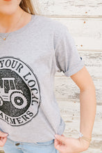 Load image into Gallery viewer, Support Your Local Farmers Tee