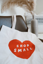 Load image into Gallery viewer, Shop Small Tote Bag