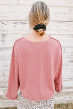 Load image into Gallery viewer, Best Sweater Ever in Mauve