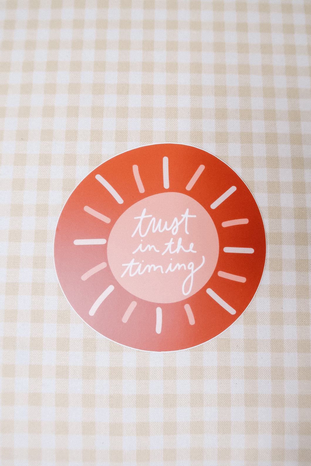 Trust in the Timing Sticker