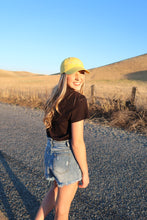 Load image into Gallery viewer, Lain & Lou Lifestyle Yellow Hat