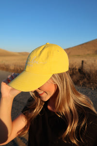 Lain & Lou Lifestyle Yellow Hat