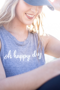 Oh Happy Day Tank-Top