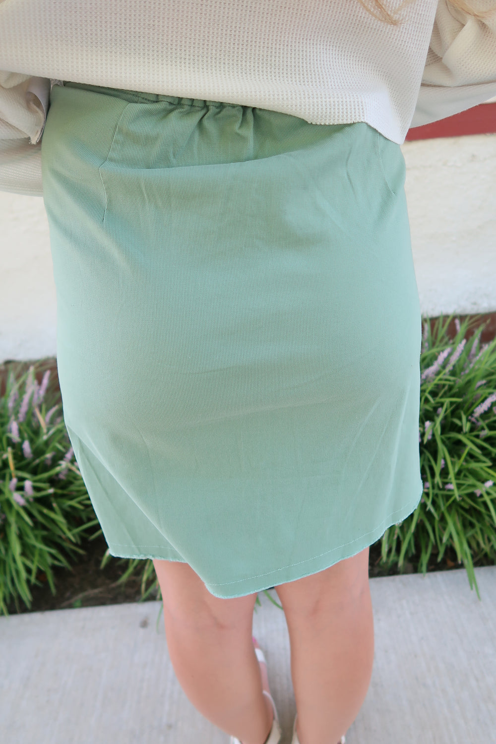 Oh Sunny Day.Oh Sunny Day Sage Skirt