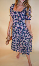 Load image into Gallery viewer, Ol' Sweet Day Floral Midi Dress