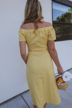 Load image into Gallery viewer, Sweet Sunshine & Citrus Dress