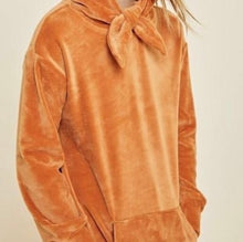 Load image into Gallery viewer, Girls amber hooded sweater