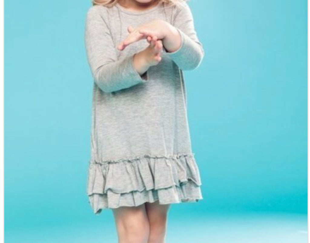 Grey tunic/dress (Toddler)