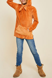 Girls amber hooded sweater
