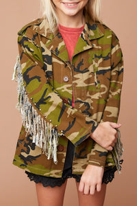 Girls Camoflauge jacket