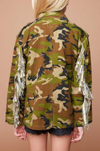 Load image into Gallery viewer, Girls Camoflauge jacket
